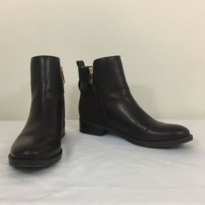 TOMMY HILFIGER Dark Brown Ankle Boots